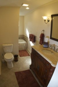 Bathroom - Brownstone Classic Colonial Country Home