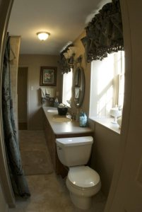 Bathroom - Brownstone Colonial Country Home
