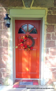 Front Door with Keystone